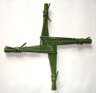 Imbolc Saint_Brigid's_cross - Wiki